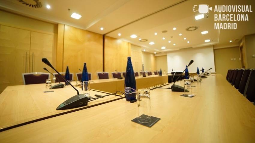 Alquiler micrófonos analógicos de conferencia Bosch CCS800