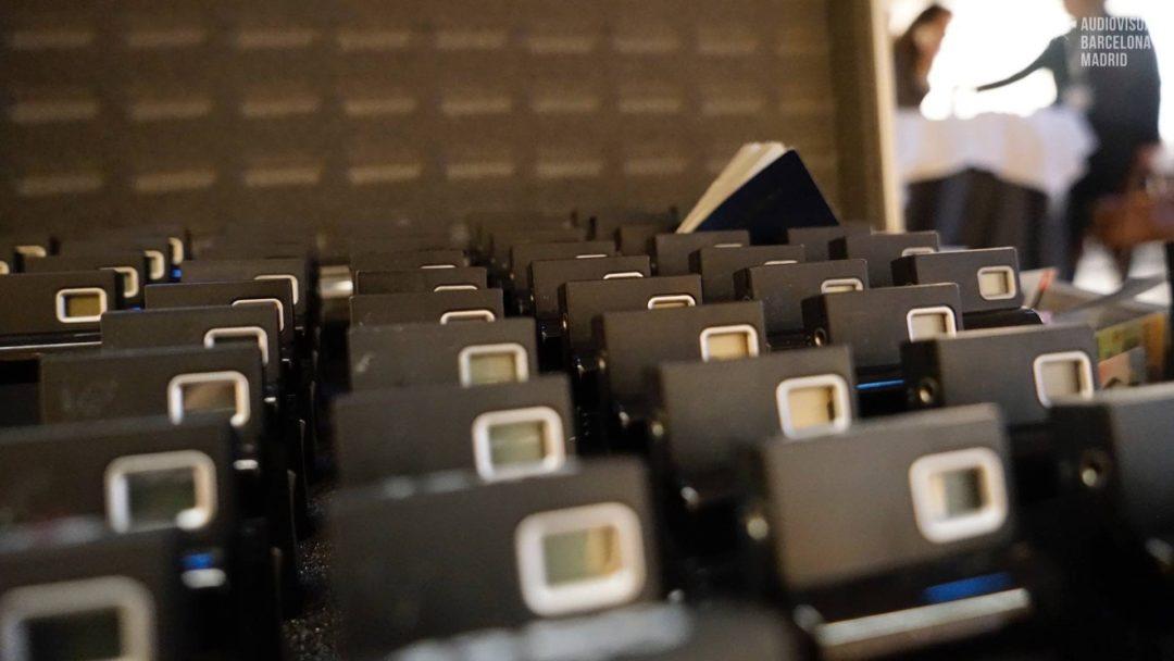Alquiler de equipos de traducción simultánea en Barcelona, PCC